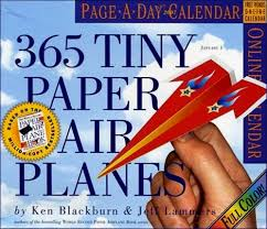 tiny paper airplanes