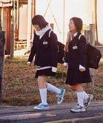 japanese school kids