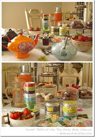 baby shower tea parties
