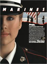 females in the marines