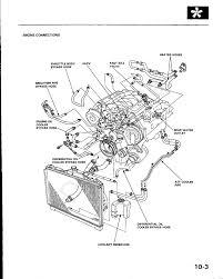 acura legend engine diagram