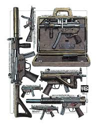 gun briefcase