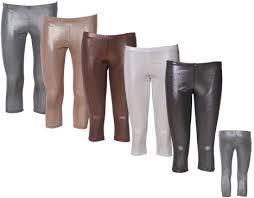shiny stretch pants