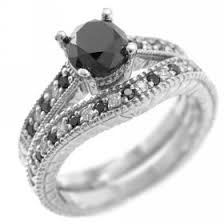 engagement rings black diamond