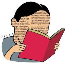 cartoon reading book