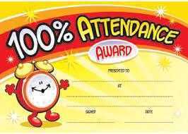 certificates attendance