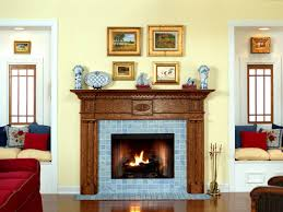 colonial fireplace mantel