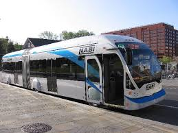 rapid transit bus