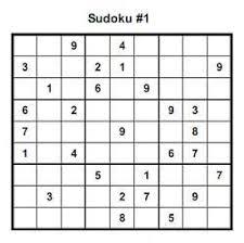easy sudoku