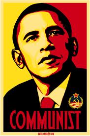obama communist posters