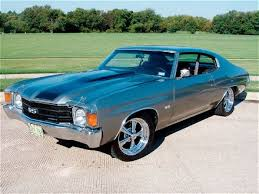 old chevy muscle cars