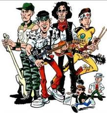 cartoon band pictures