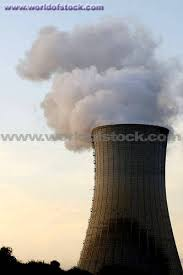 power plant chimney