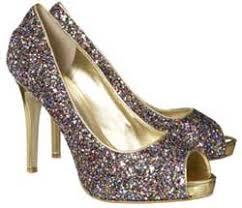 nine west glitter shoes