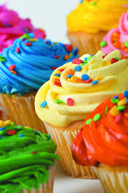cupcakes and sprinkles