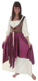 long peasant dress