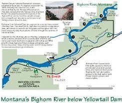 bighorn river map