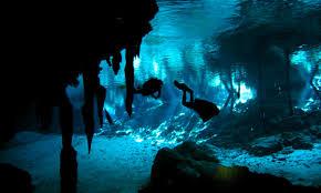 cave diving photos