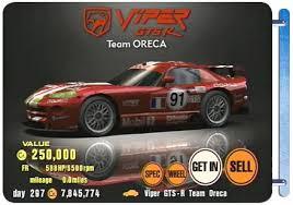 dodge viper race car