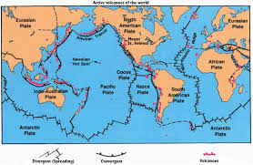 fault lines world map
