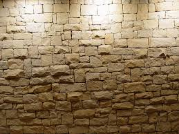 stone wall light