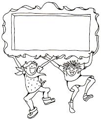 children border clip art