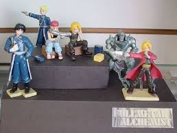 full metal alchemist figures