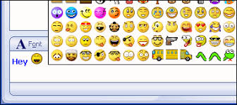 custom msn smileys