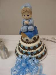precious moments baby shower cakes
