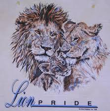 lion family tattoo