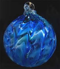blown glass ball