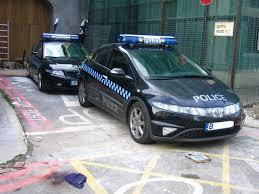honda police car