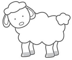 sheep cutouts