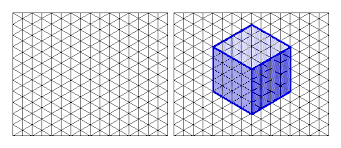 isometric drawing grid