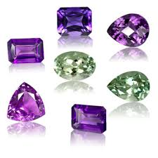 light purple gemstone