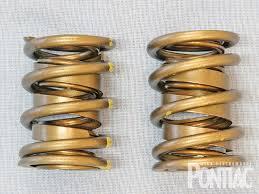 dual valve springs