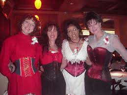ladies in corsets