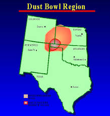 dust bowl states