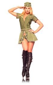 army girls fancy dress