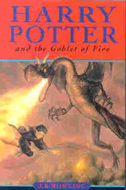 harry potter goblet of fire book