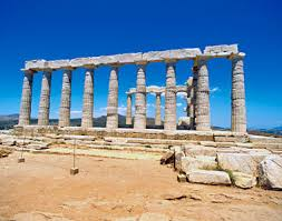greece pillars