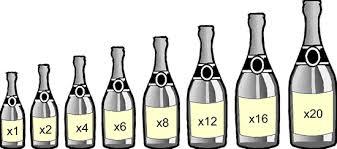 burgundy bottle