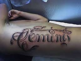 Tribal Gemini Sign Tattoos