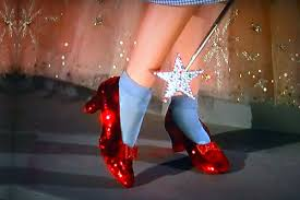 dorothys ruby red slippers