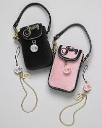 juicy couture cell phone holder