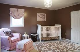 pink and brown nurseries