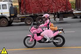 pink motorbike boots