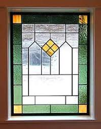 prairie style stained glass