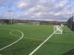astro turf football pitch
