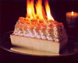 Baked Alaska � This flamb�